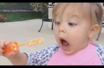 Funny Babies Blowing Bubbles For The First Time Compilation 2016 [NEW VIDEOS]