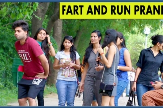 Fart and Run Prank – TroubleSeekerTeam – Pranks in India